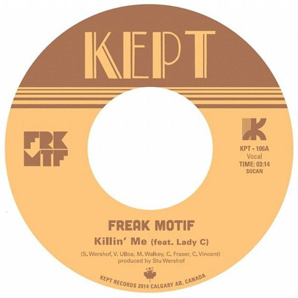 Freak Motif - Killin Me (Vinyle Neuf)