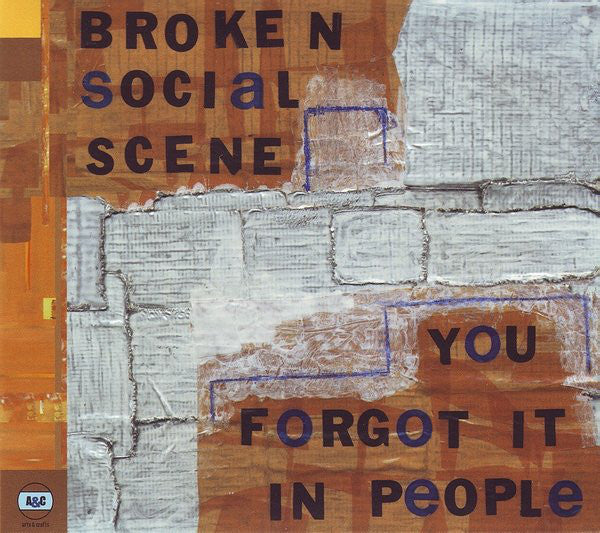 Broken Social Scene - You Forgot It In People (CD Usagé)