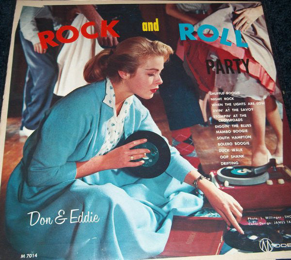 Don and Eddie - Rock and Roll Party (Vinyle Usagé)