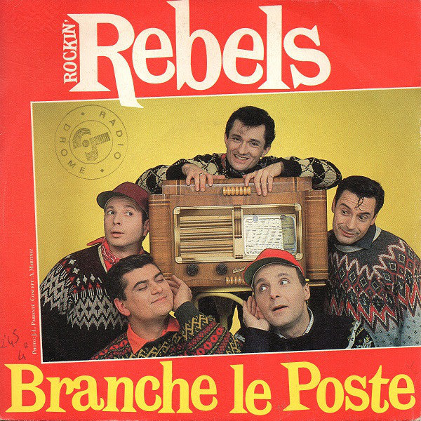 Rockin Rebels - Branche Le Poste (45-Tours Usagé)