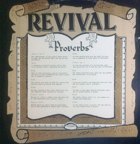 Revival (3) - Proverbs (Vinyle Usagé)
