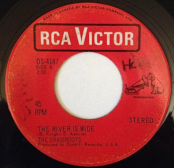 The Grass Roots - The River Is Wide / (you Gotta) Live For Love (45-Tours Usagé)