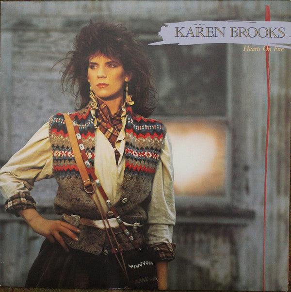 Karen Brooks - Hearts On Fire (Vinyle Usagé)