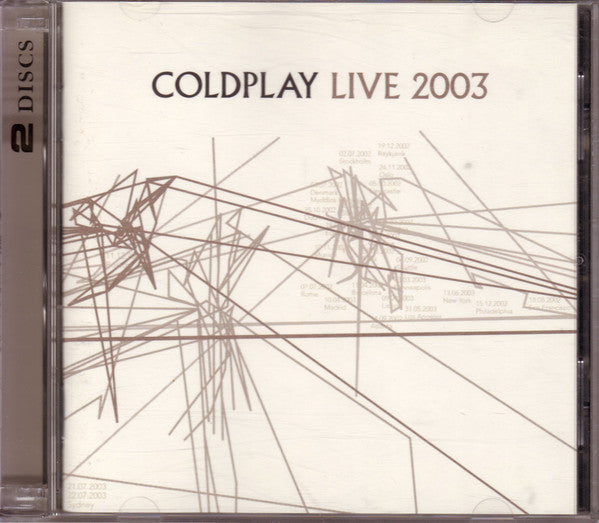 Coldplay - Live 2003 (CD Usagé)
