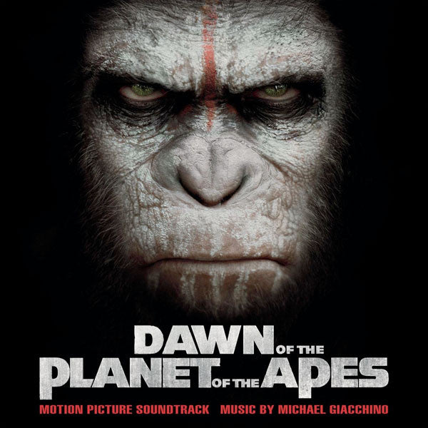 Soundtrack -  Michael Giacchino: Dawn Of The Planet Of The Apes (Vinyle Neuf)