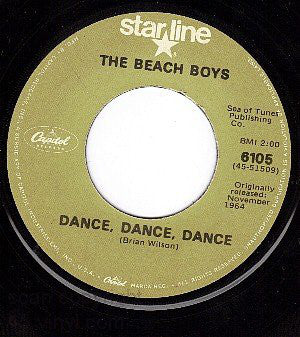 The Beach Boys - Dance Dance Dance (45-Tours Usagé)