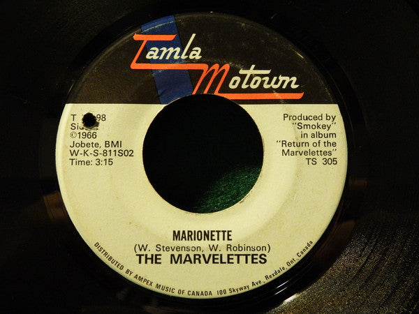 The Marvelettes - Marionette (45-Tours Usagé)