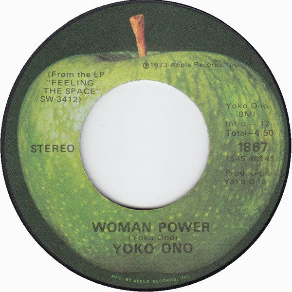 Yoko Ono - Woman Power (45-Tours Usagé)