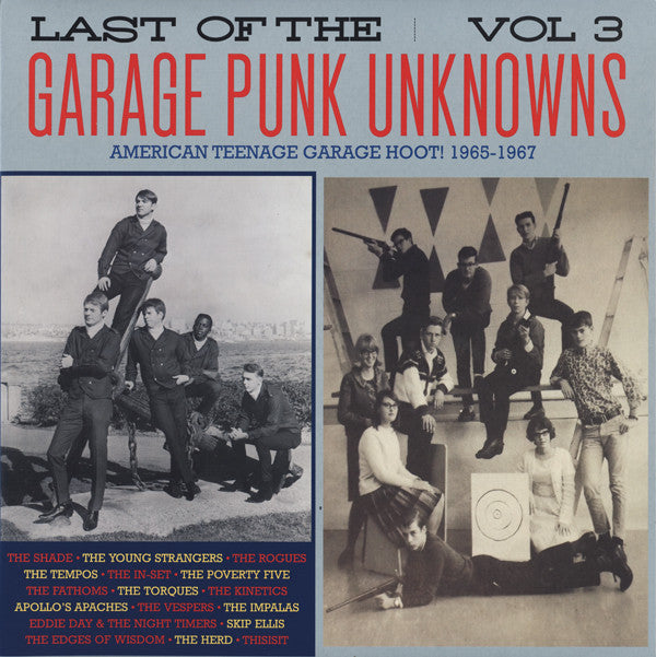 Various - The Last Of The Garage Punk Unknowns Volume 3 (Vinyle Neuf)