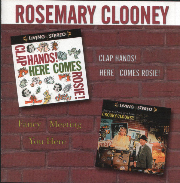 Rosemary Clooney - Clap Hands! Here Comes Rosie / Fancy Meeting You Here (CD Usagé)