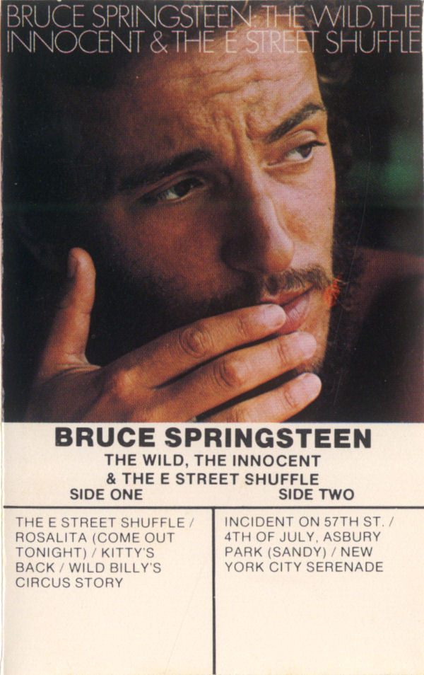Bruce Springsteen - The Wild The Innocent And The E Street Shuffle (Cassette Usagée)