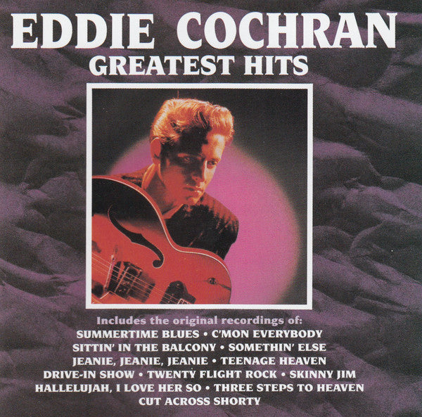 Eddie Cochran - Greatest Hits (CD Usagé)