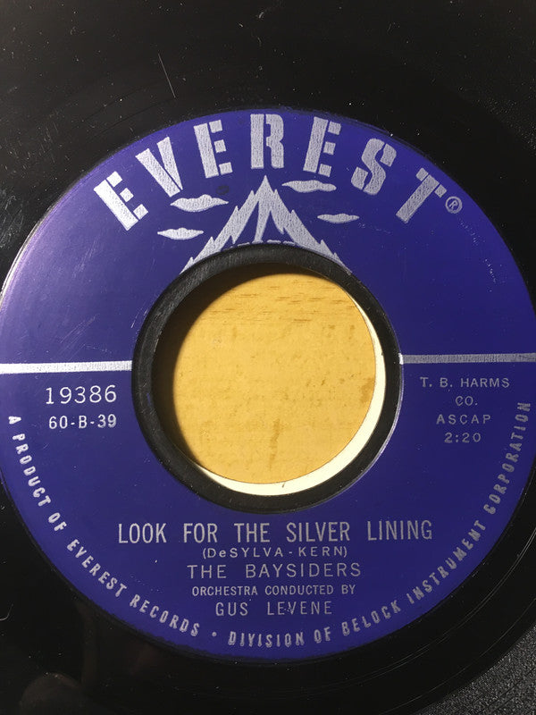The Baysiders - Look For The Silver Lining (45-Tours Usagé)