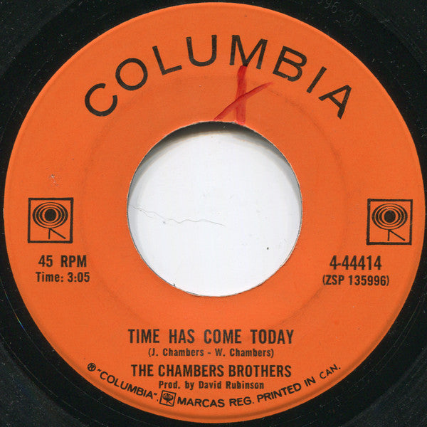 The Chambers Brothers - Time Has Come Today (45-Tours Usagé)