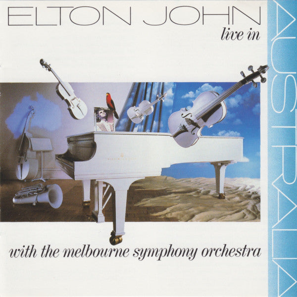 Elton John - Live In Australia with the Melbourne Symphony Orchestra (CD Usagé)