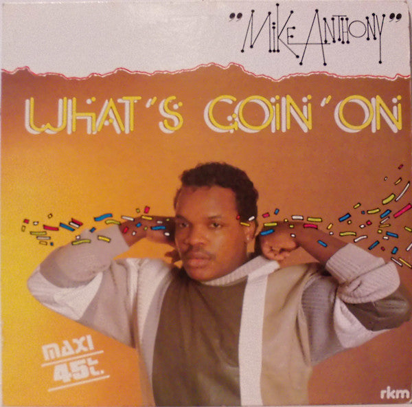 Mike Anthony - Whats Goin On (Vinyle Usagé)
