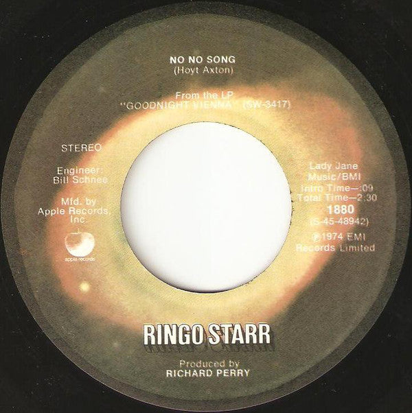 Ringo Starr - No No Song (45-Tours Usagé)