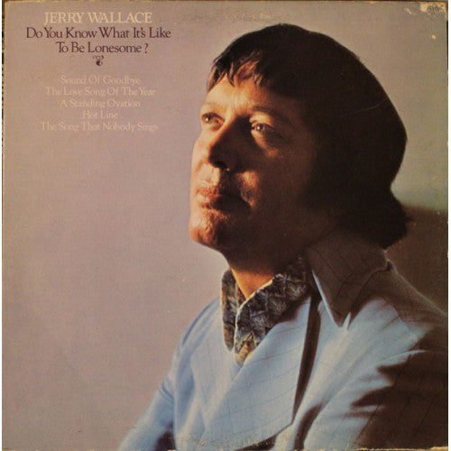 Jerry Wallace - Do You Know What Its Like to Be Lonesome (Vinyle Usagé)