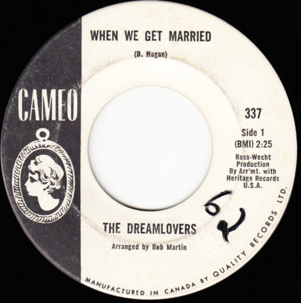 The Dreamlovers - When We Get Married / Just Because (45-Tours Usagé)