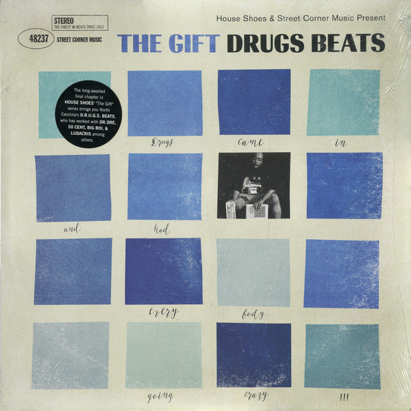 House Shoes - The Gift Volume Ten: Drugs Beats (Vinyle Neuf)