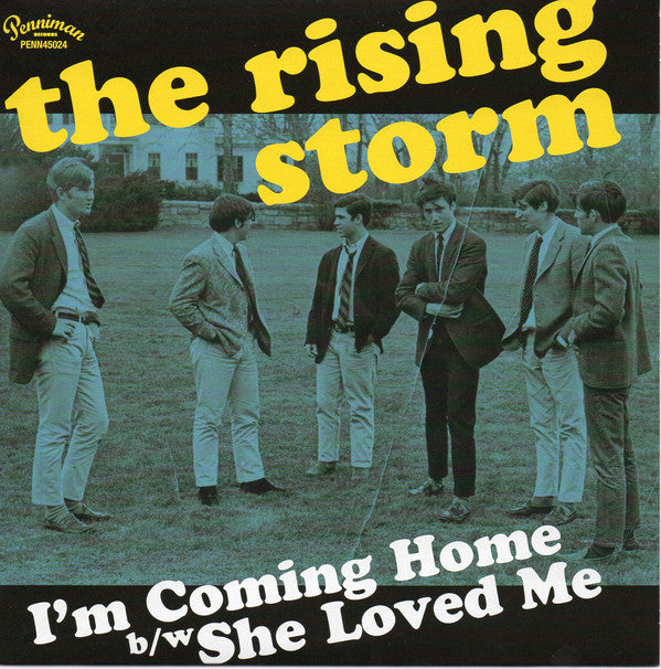 Rising Storm - Im Coming Home / She Loved Me (Vinyle Neuf)