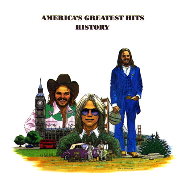America - Greatest Hits / History (CD Usagé)
