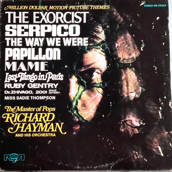 Richard Hayman - Million Dollar Motion Picture Themes (Vinyle Usagé)