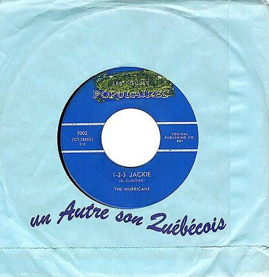 The Hurricane - Hurricane Rock / 1-2-3 Jackie (45-Tours Usagé)