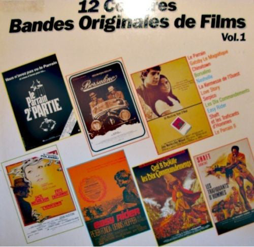 Collection - 12 Celebres Bandes Originales de Films Vol 1 (Vinyle Usagé)