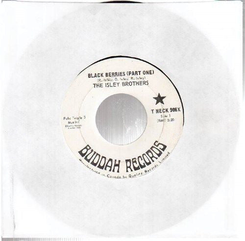 The Isley Brothers - Black Berries (45-Tours Usagé)