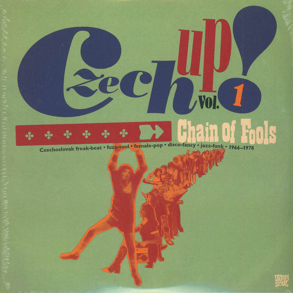 Various - Czech Up Volme 1: Chain Of Fools (Vinyle Neuf)