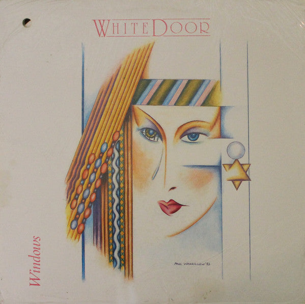 White Door - Windows (Vinyle Usagé)