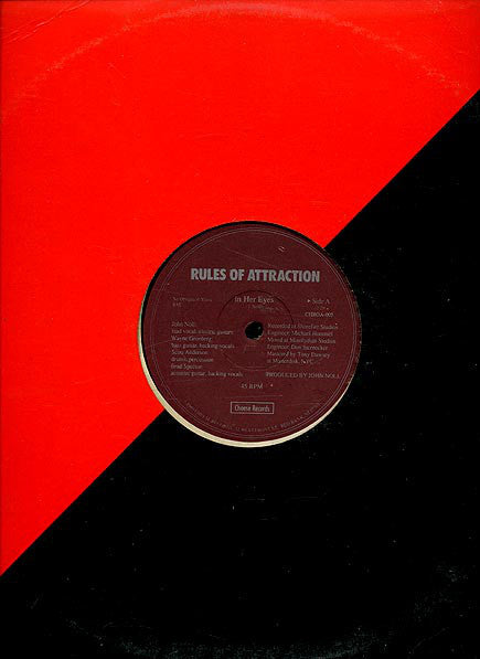 Rules of Attraction - In Her Eyes / When It Was Over (Vinyle Usagé)