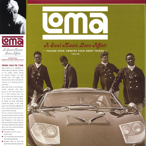 Various - Loma: A Soul Music Love Affair Volume Four / Sweeter Than Sweet Things 1964-68 (Vinyle Neuf)