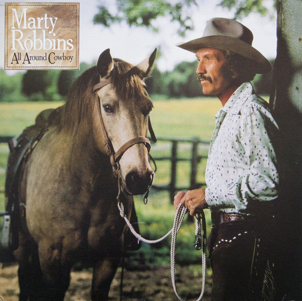 Marty Robbins - All Around Cowboy (Vinyle Usagé)