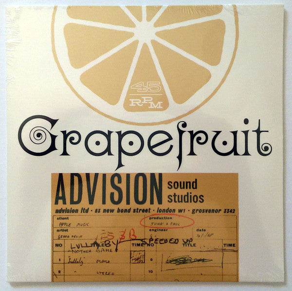 Grapefruit - Lullaby / Sweet Little Miss No Name (Vinyle Neuf)