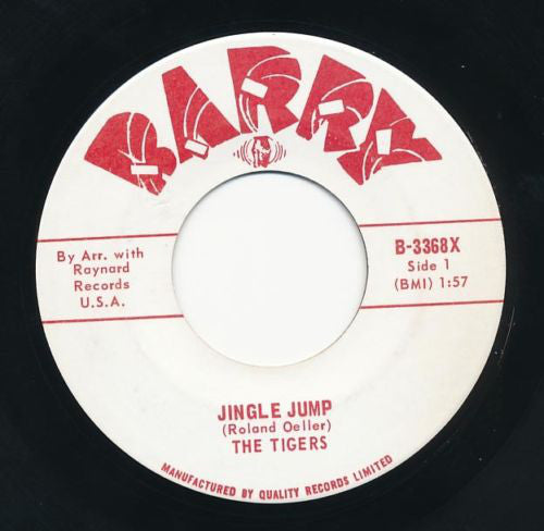 The Tigers (6) - Jingle Jump (45-Tours Usagé)
