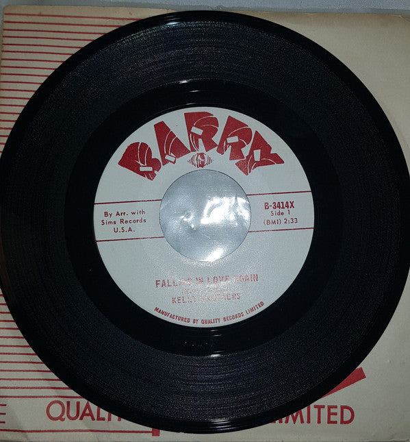 The Kelly Brothers - Falling In Love Again (45-Tours Usagé)