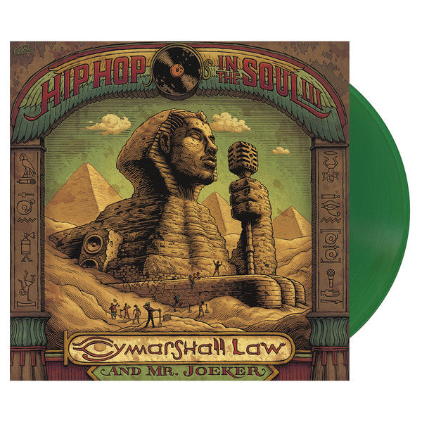 Cymarshall Law and Mr Joeker - Hip Hop In the Soul 3 (Vinyle Neuf)