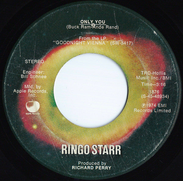Ringo Starr - Only You (45-Tours Usagé)