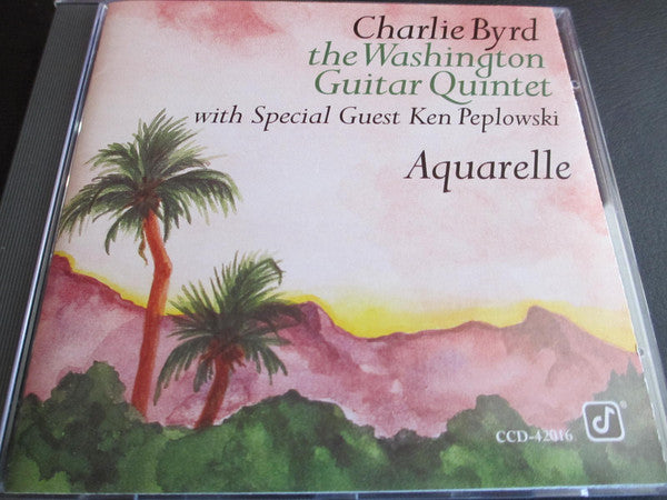 Charlie Byrd - Aquarelle (CD Usagé)