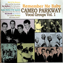 Various - Remember Me Baby - Cameo Parkway Vocal Groups Vol 1 (CD Usagé)