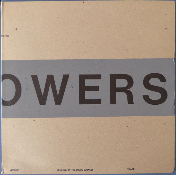 100 Flowers - Drawing Fire EP (Vinyle Neuf)