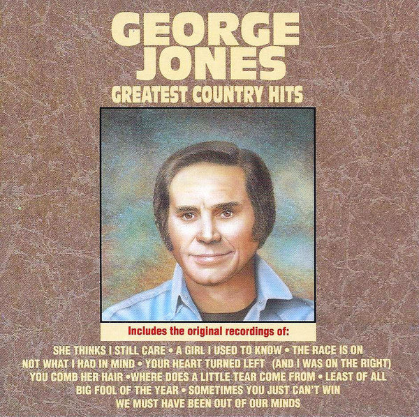 George Jones - Greatest Country Hits (CD Usagé)