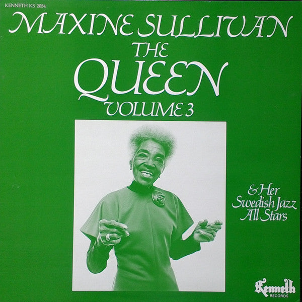 Maxine Sullivan - The Queen And Her Swedish Jazz All Stars Volume 3 (Vinyle Usagé)