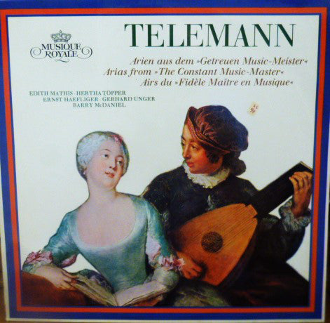 Telemann / Ulsamer / Mathis - Arias from The Constant Music Master (Vinyle Usagé)