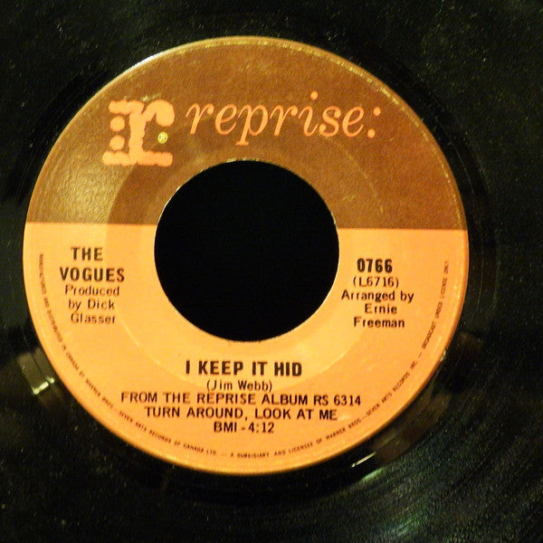The Vogues - My Special Angel (45-Tours Usagé)
