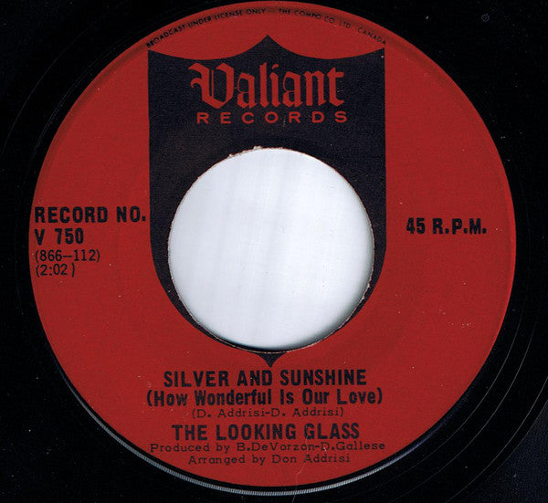 The Looking Glass (2) - Silver And Sunshine (how Wonderful Is Our Love) (45-Tours Usagé)
