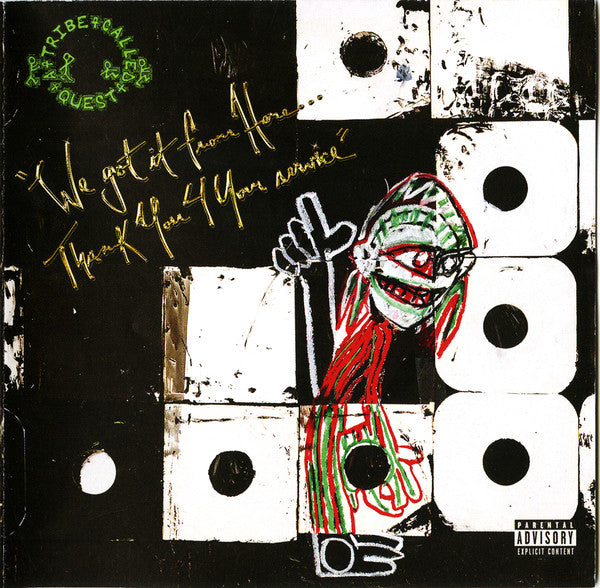 A Tribe Called Quest - We Got It From Here Thank You For Your Service (Vinyle Neuf)
