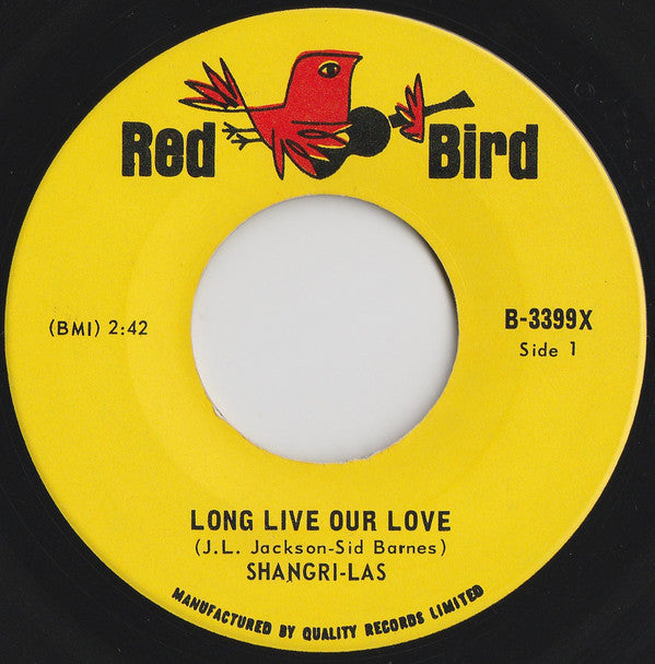 The Shangri-las - Long Live Our Love (45-Tours Usagé)